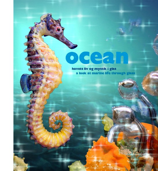 Cover, catalogue, Ocean. Design Lower East
