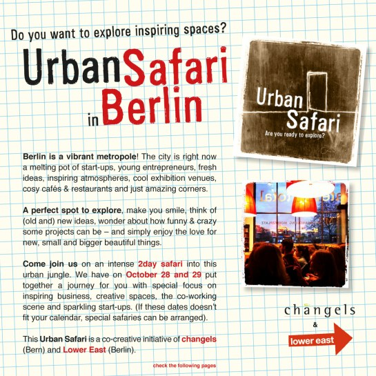 Urban Safari OCT 2013 p1