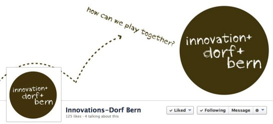 Facebook cover innovationsdorf Bern ©lowereast