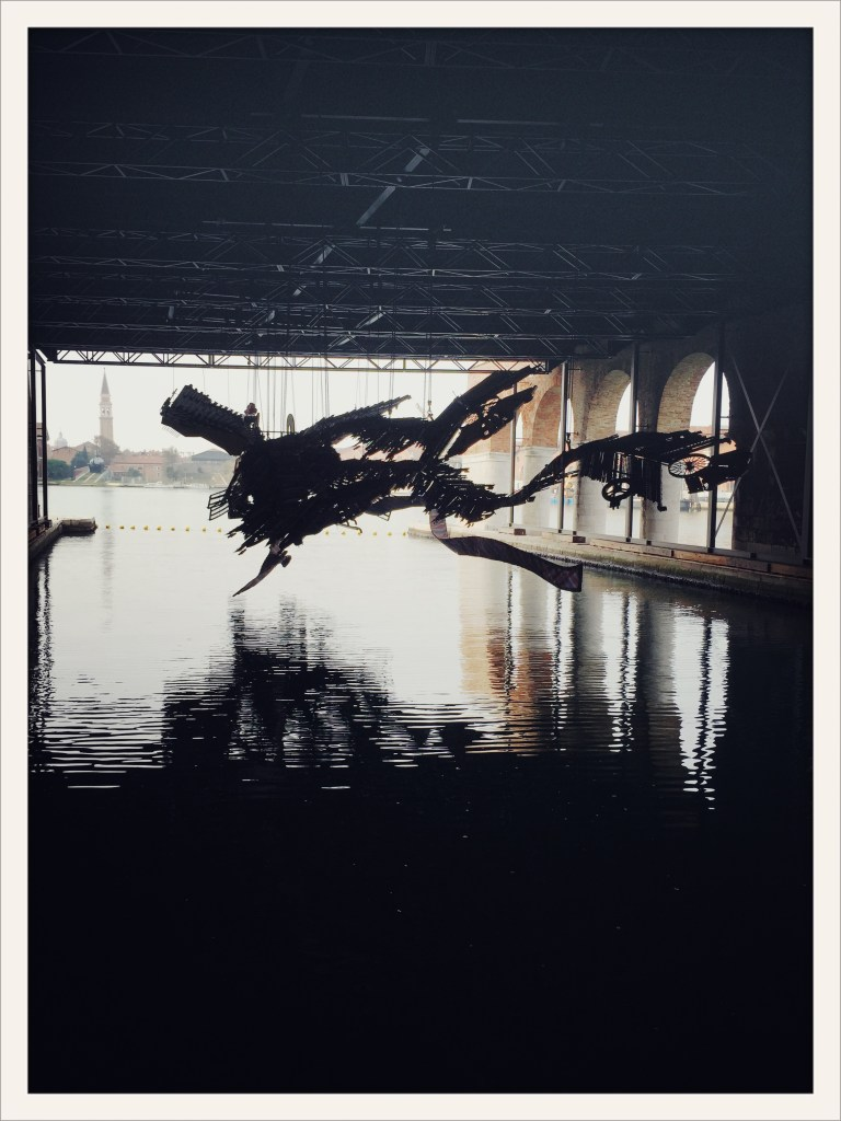 Xu Bing: The Phoenix, Venice Art Biennale 2015 © photo Lower East