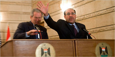 Maliki Lunges to Save Bush