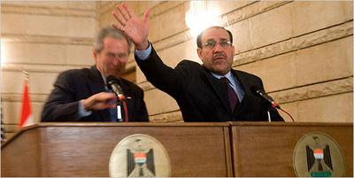 Maliki Lunges to Save Bush