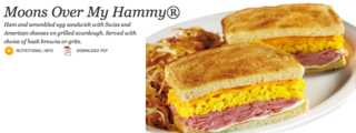 A registered trademark of Denny's, obviously