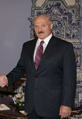 Lukashenko and mustache
