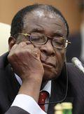 Snoozing Mugabe