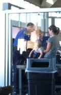 TSA baby search