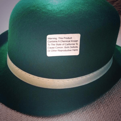 Prop 65 hat