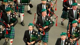bagpipers