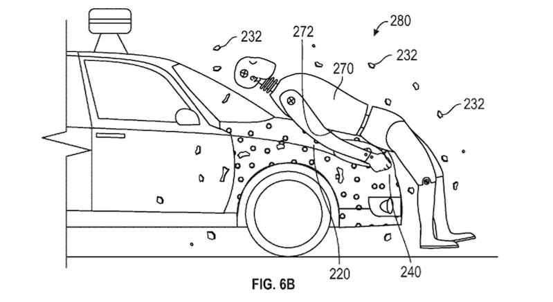 Google Awarded Patent for Sticky Cars