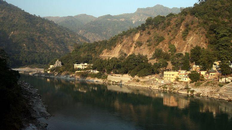 Ganges at Rishikesh