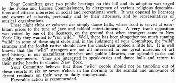 1926 committee report