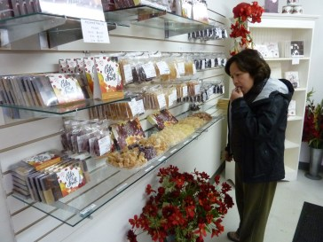 I was like a child in a candy store, tasting all the candy samples.