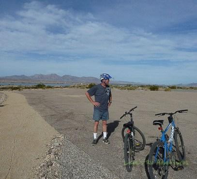Riding around the Island Trail