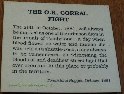 About the gunfight at OK Corral