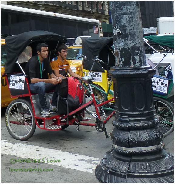 Central Park Pedicab