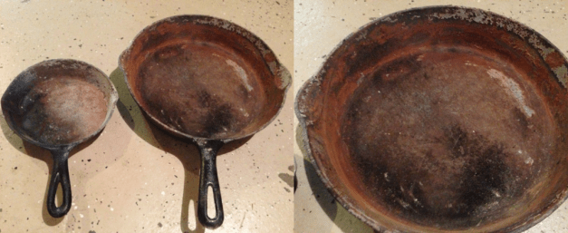 Cast Iron after Fire