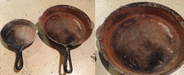 Cast Iron after Fire