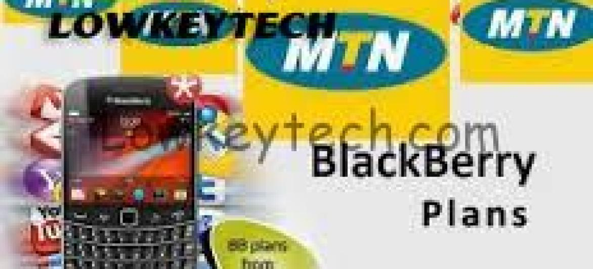 New Cheap MTN Blackberry Plans