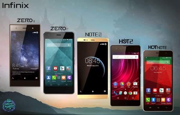 Price-List Of All New Infinix Phones In Computer Village ...