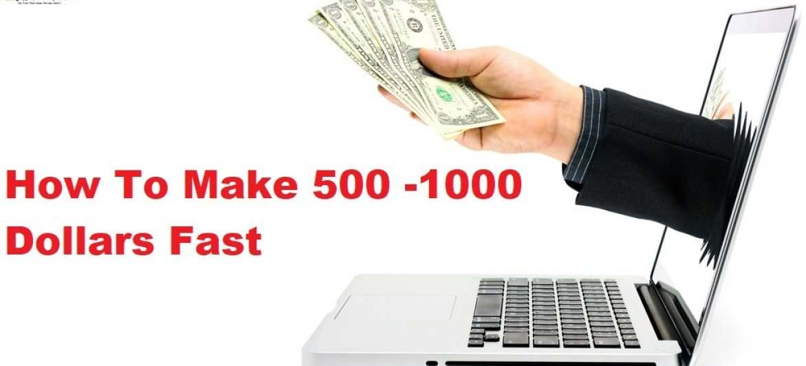 How To Make 500 -1000 Dollars Fast – White Hat Method