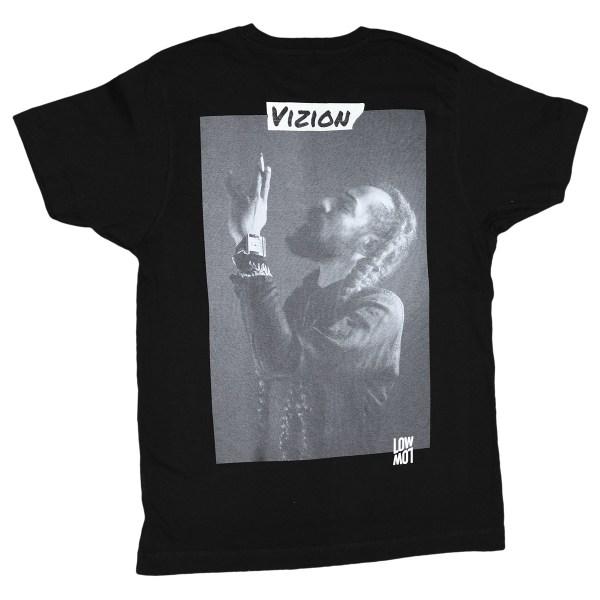 Vizion Shirt schwarz hinten