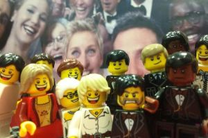 LEGO Oscars Selfie