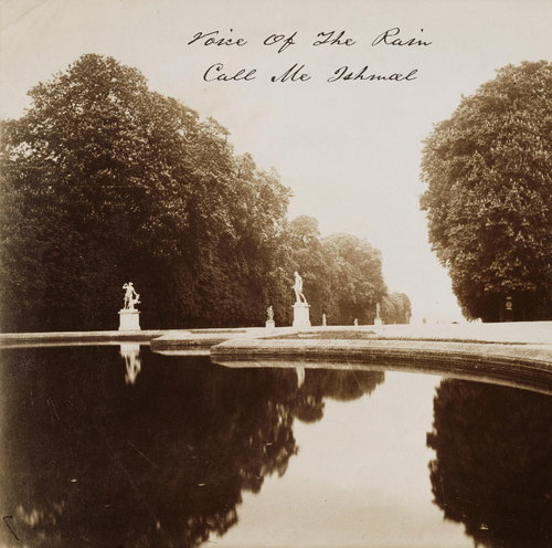 The front cover of Call Me Ishmael which is a photograph by Eugène Atget taken between 1915 and 1919, Reflecting Pool Saint-Cloud.