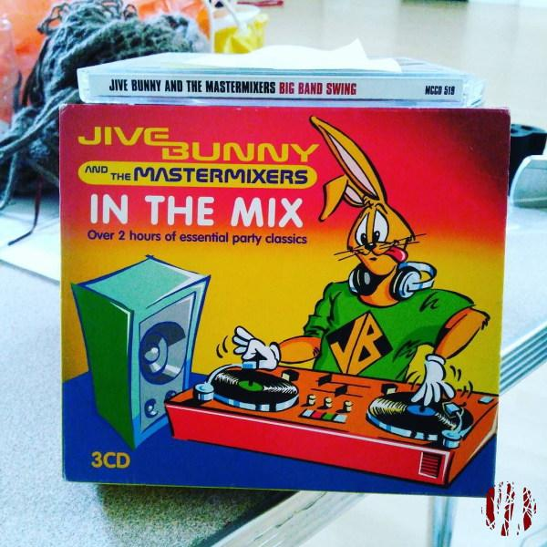 A three CD collection of Jive Bunny and the Mastermixers