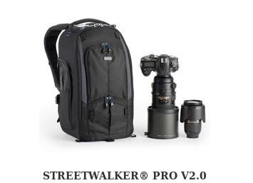 A high end camera bag called the Street Walker Pro