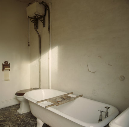 A View Of The Bathroom In Mr Straw S House Mr Straw S