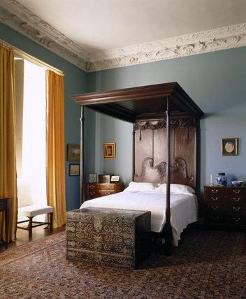 The Countess Bedroom At Florence Court Florence Court At