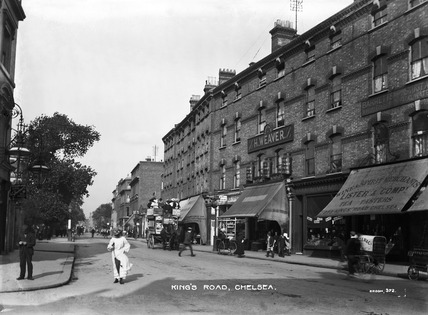 Kings Road Chelsea 20th Century By Christina Broom At