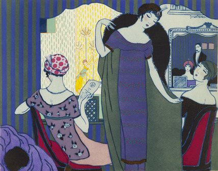 At The Theatre, from Les Choses De Paul Poiret
