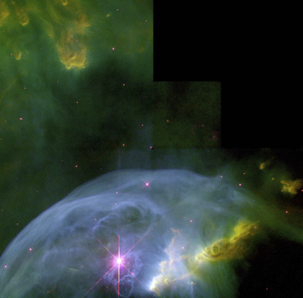 An expanding Bubble in space, 2000. at Science and Society ...