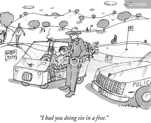 Cartoon Police Bribery Corruption