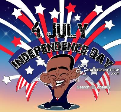 4th July News and Political Cartoons
