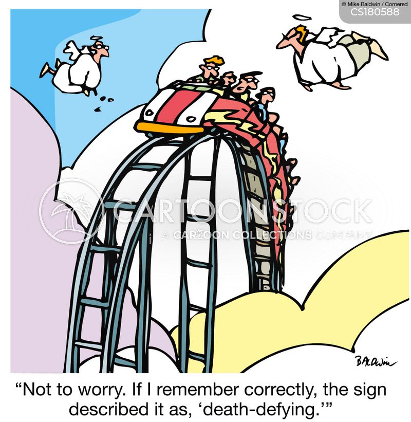 Rollercoaster Cartoons and Comics - funny pictures from ...