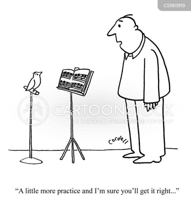 Practice Makes Perfect Cartoons and Comics - funny ...