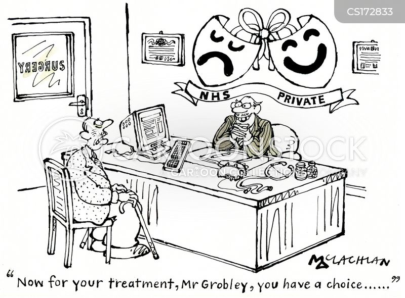 Image result for private gp cartoon