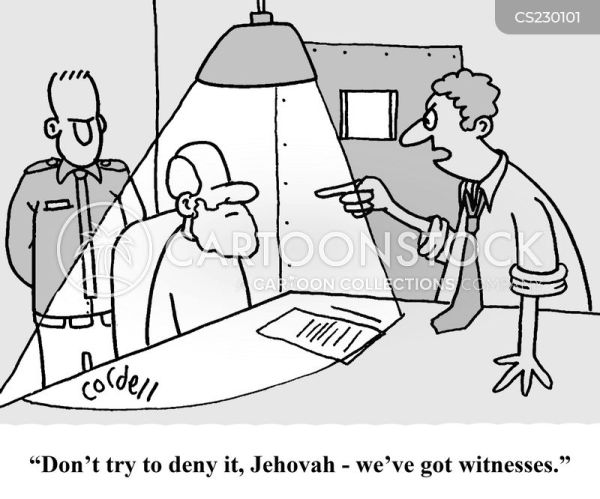Jehovahs Witnesses Cartoons and Comics - funny pictures ...