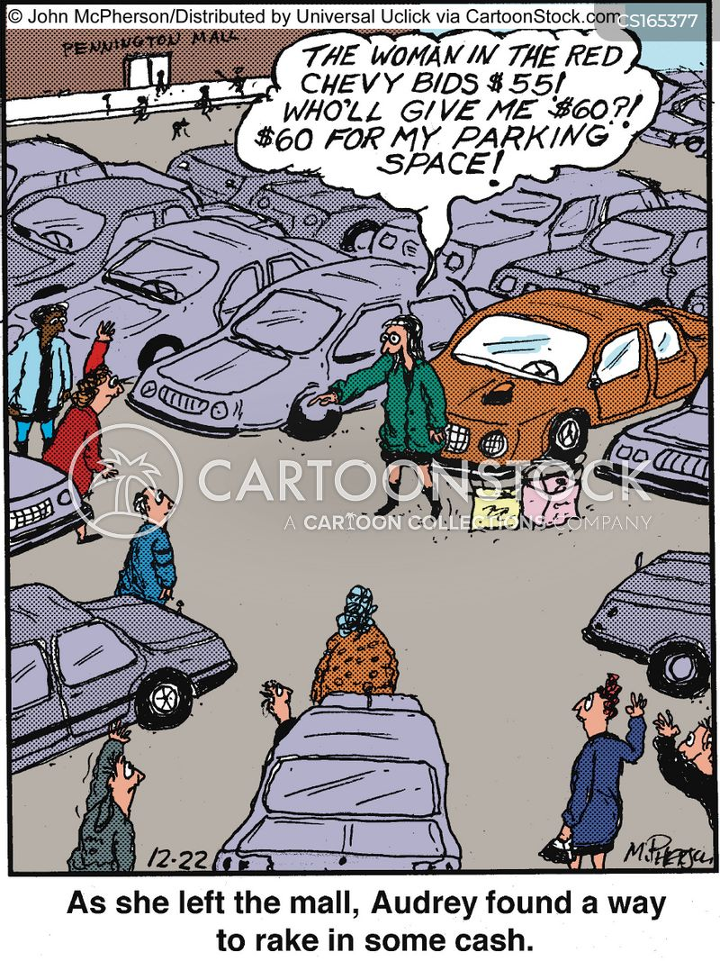 Parking Cartoons And Comics Funny Pictures From Cartoonstock