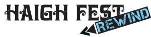 Haigh Fest Rewind logo
