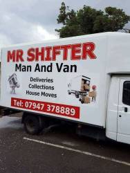 Mr Shifter man and van