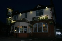 The Robin Hood pub at Pennington