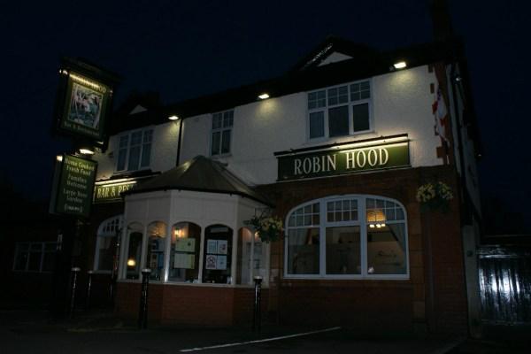 The Robin Hood pub at Pennington