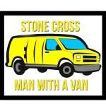 Stone Cross Man with a Van