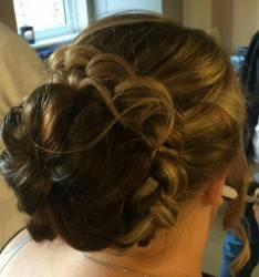 Up style by Siobhan's Mobile Hairdressing