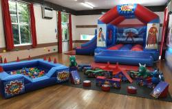Pulse Entertainments bouncy castle and soft play equipment