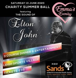 Elton John Tribute Charity Summer Ball