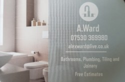 A Ward plumbing and joinery Golborne